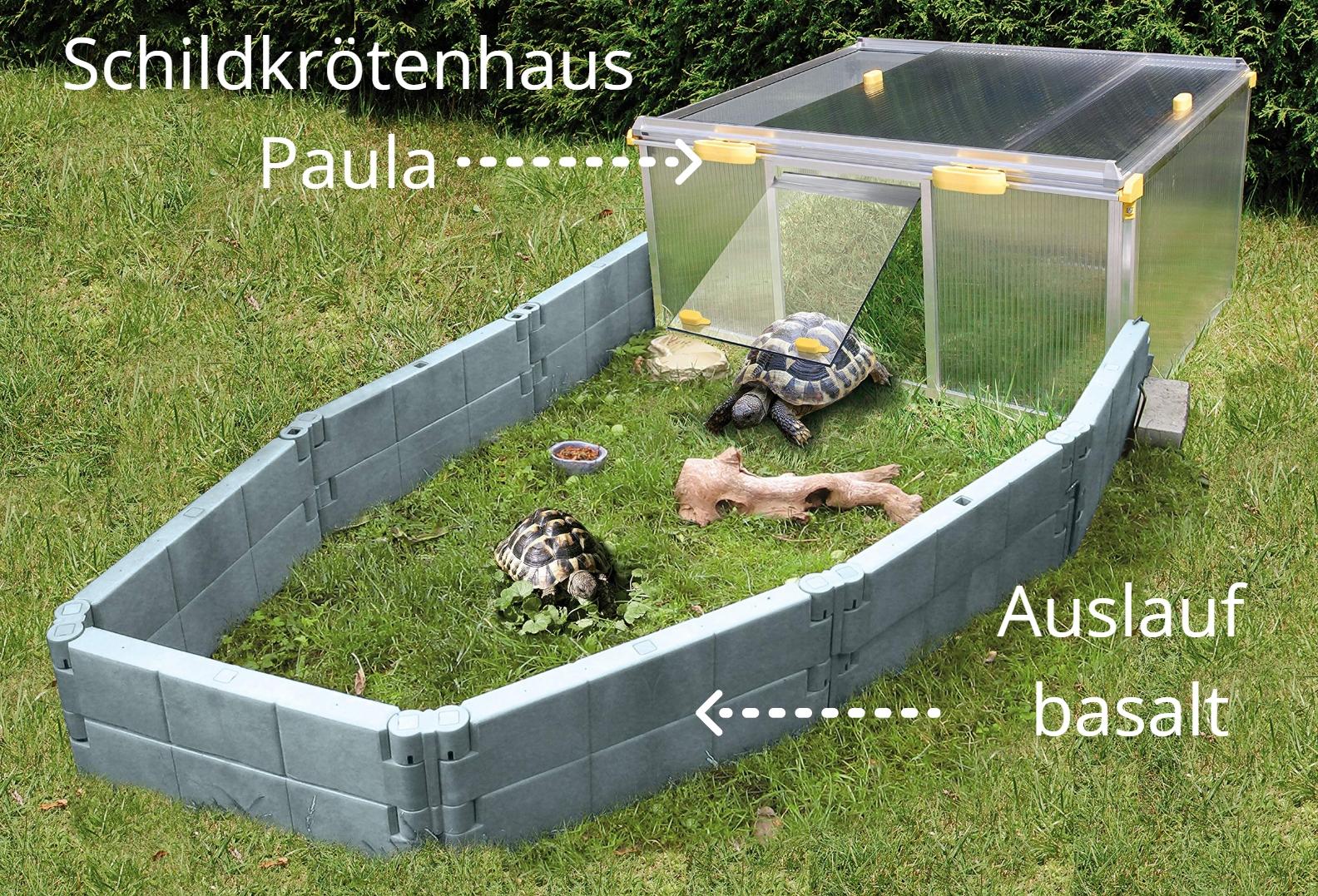 1_Schildkroetenhaus-Paula-Alltop-Fruehbeet-Anbausatz-Auslauf-basalt